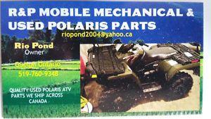 USED POLARIS ATV PARTS 400,450,500,570,600,700,800, X2 Owen Sound