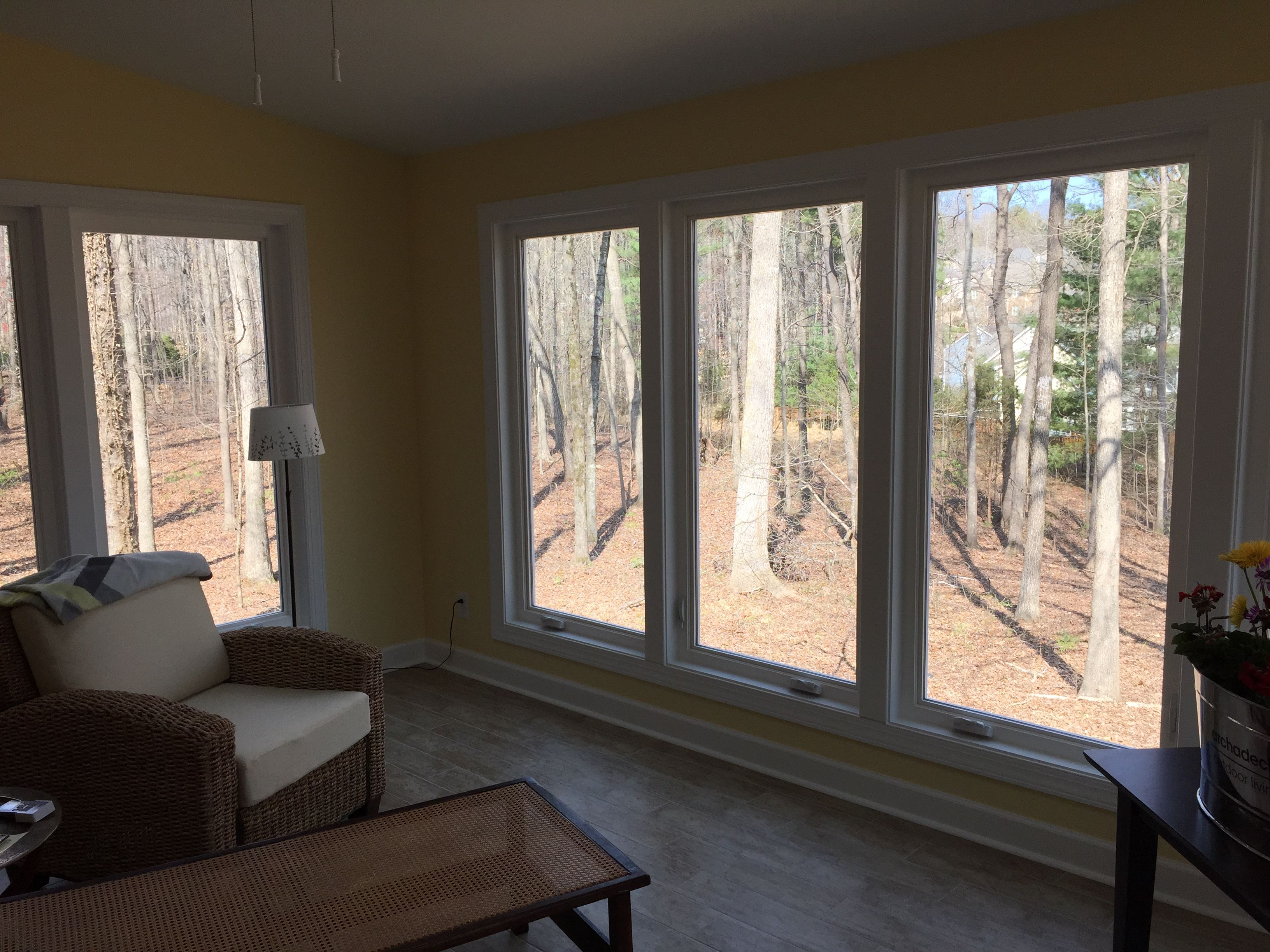 Nice This Raleigh Sunroom Features A Skylight, Air Conditioning, Laminate  Flooring And Floor To Ceiling