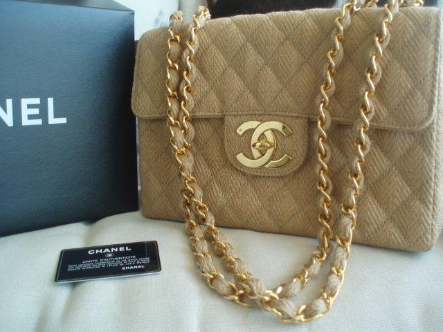 CHANEL Hemp Bag <3