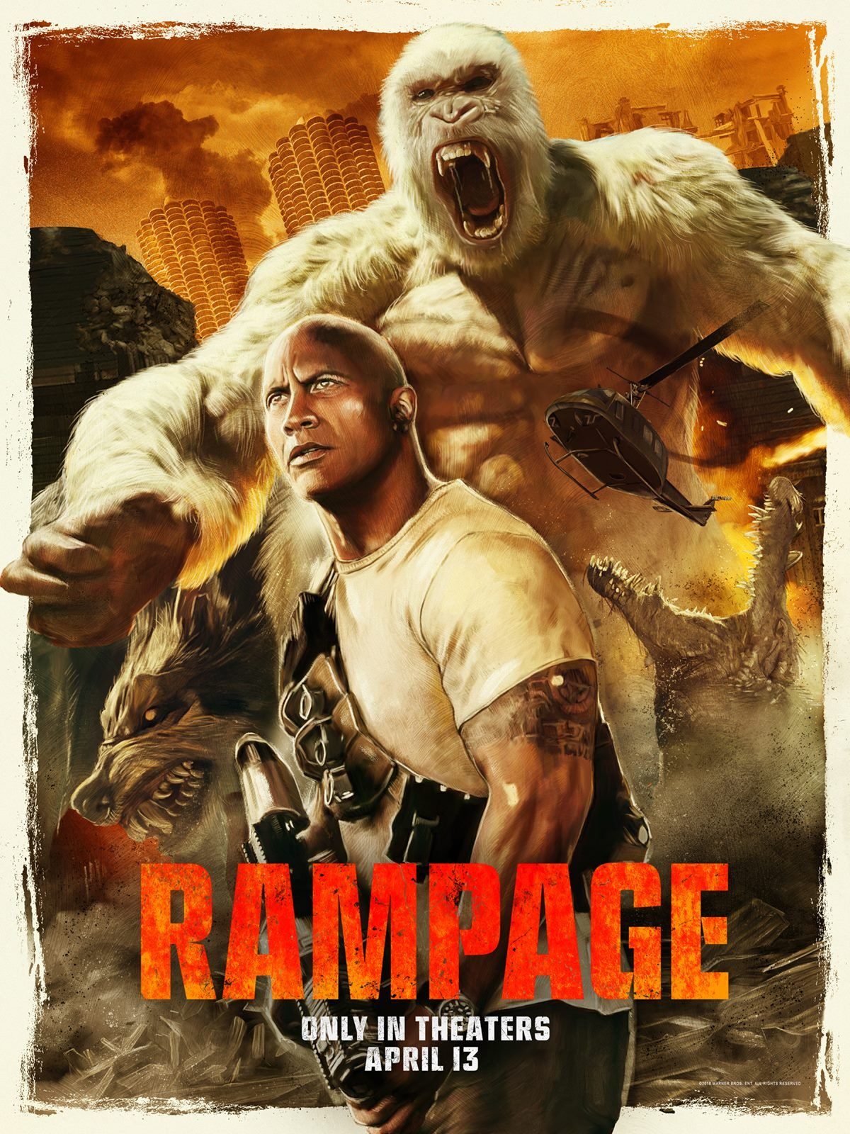 Rampage 3 New Artsy Posters Https Teaser Trailer Com Movie