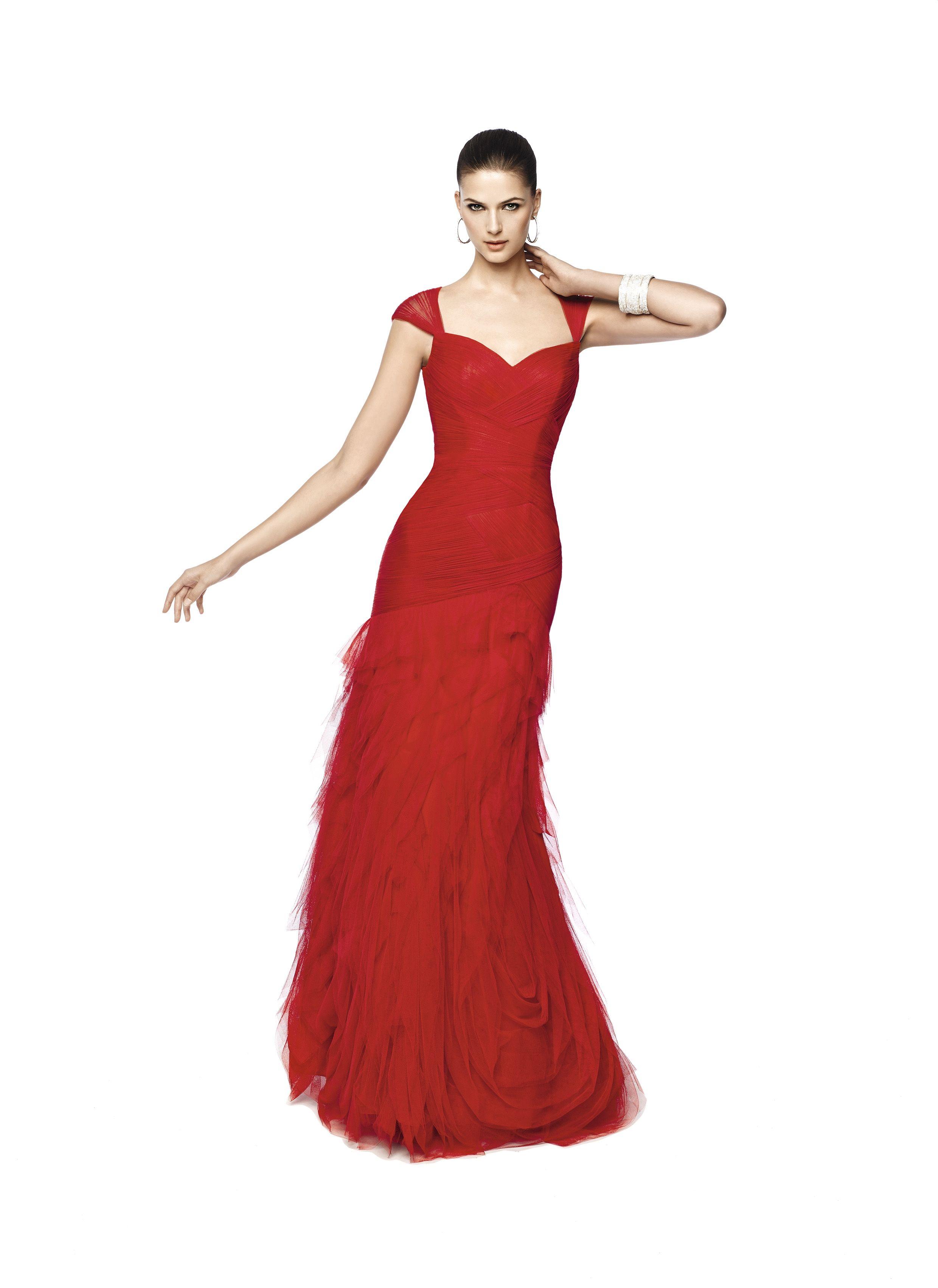 22ae61eb708d4c Nika (Trajes de Fiesta). Diseñador: Pronovias. ... | Vestidos de ...