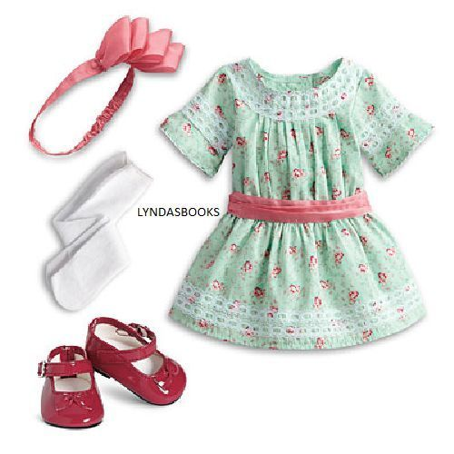 American-Girl-Doll-Samantha-Special-Day-Dress-NIB-NO-DOLL-FREE-SHIP