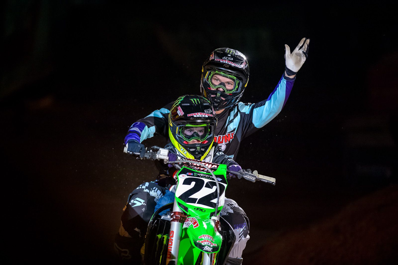 Chad reed and his son - ATL1