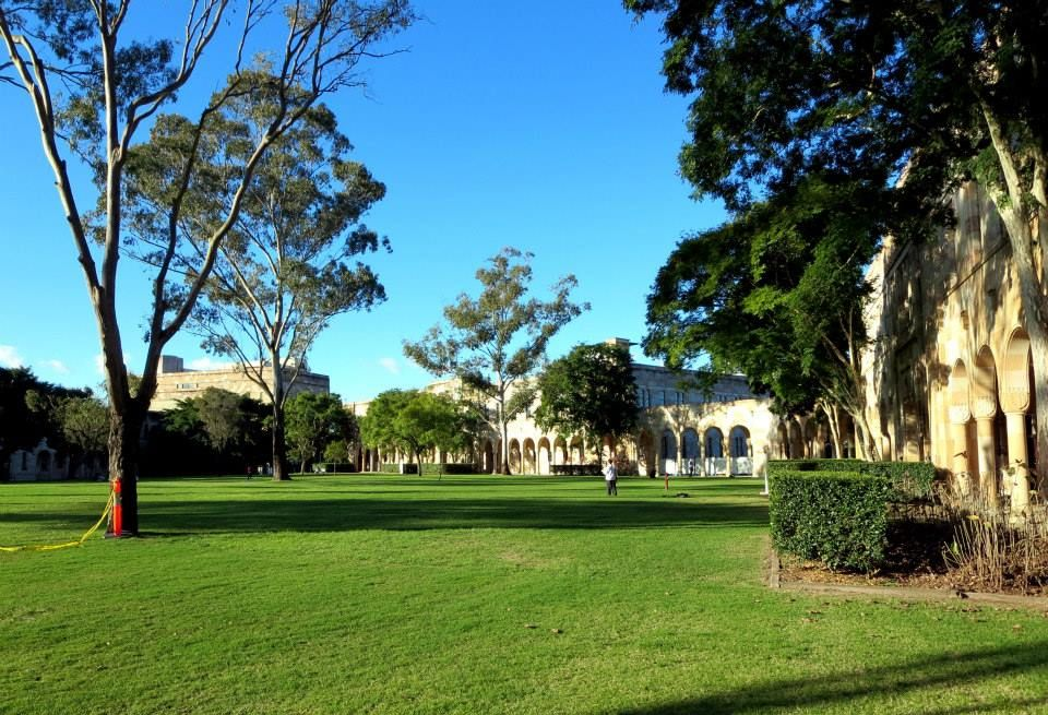The Great Court - University of Queensland