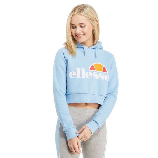 Ellesse Crop Overhead Hoody | Outfits and clothes | Pinterest ...