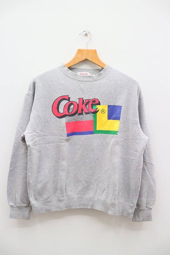 Vintage CK Clavin Klien Jeans Fashion Designer Gray Sweater Sweatshirt Size 160 FuwmmL