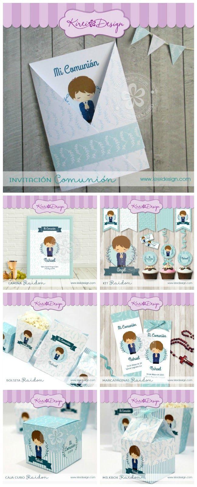 Invitaciones de comunión para descargar gratis | Invitaciones de ...