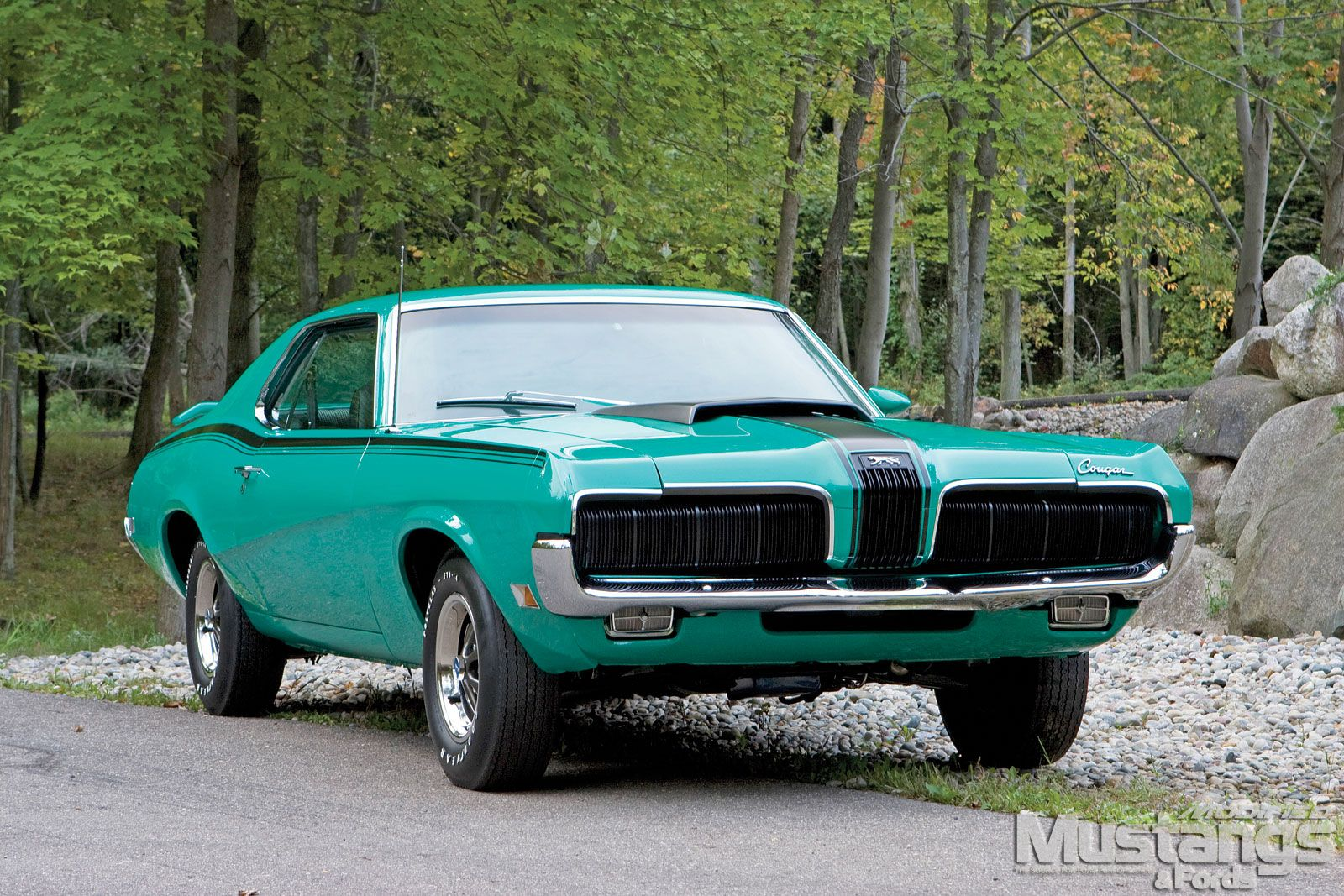 1970 Mercury Cougar I Like This Car But Want A Muscle In