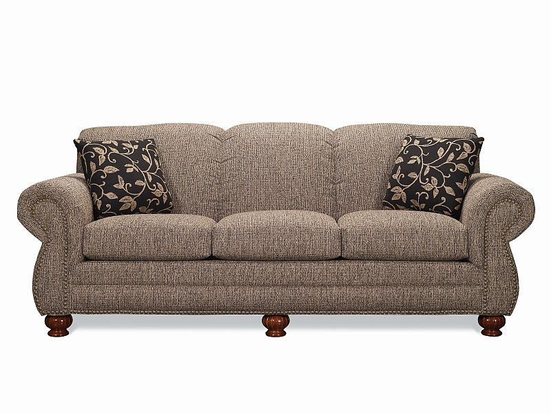 Tight Back Sofa With Rolled Arms Lancer Furniture Tight Back Sofa Granite Sofa Customizable Sofa