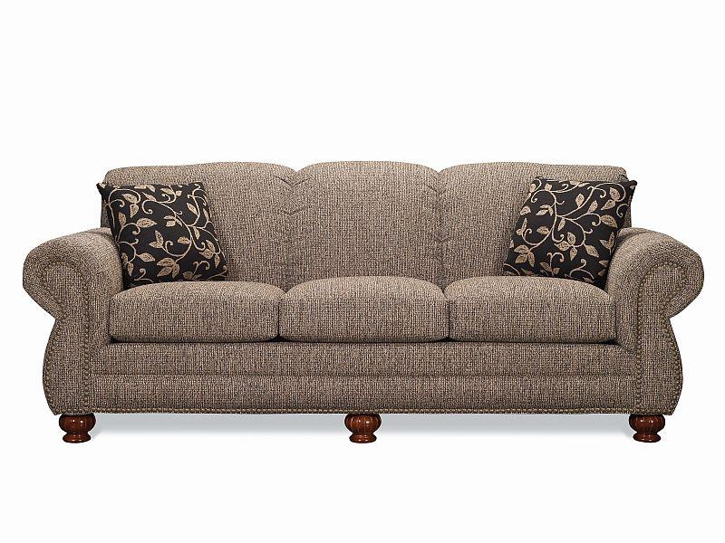 Tight Back Sofa With Rolled Arms Lancer Furniture Tight Back Sofa Granite Sofa Customizable Sofa