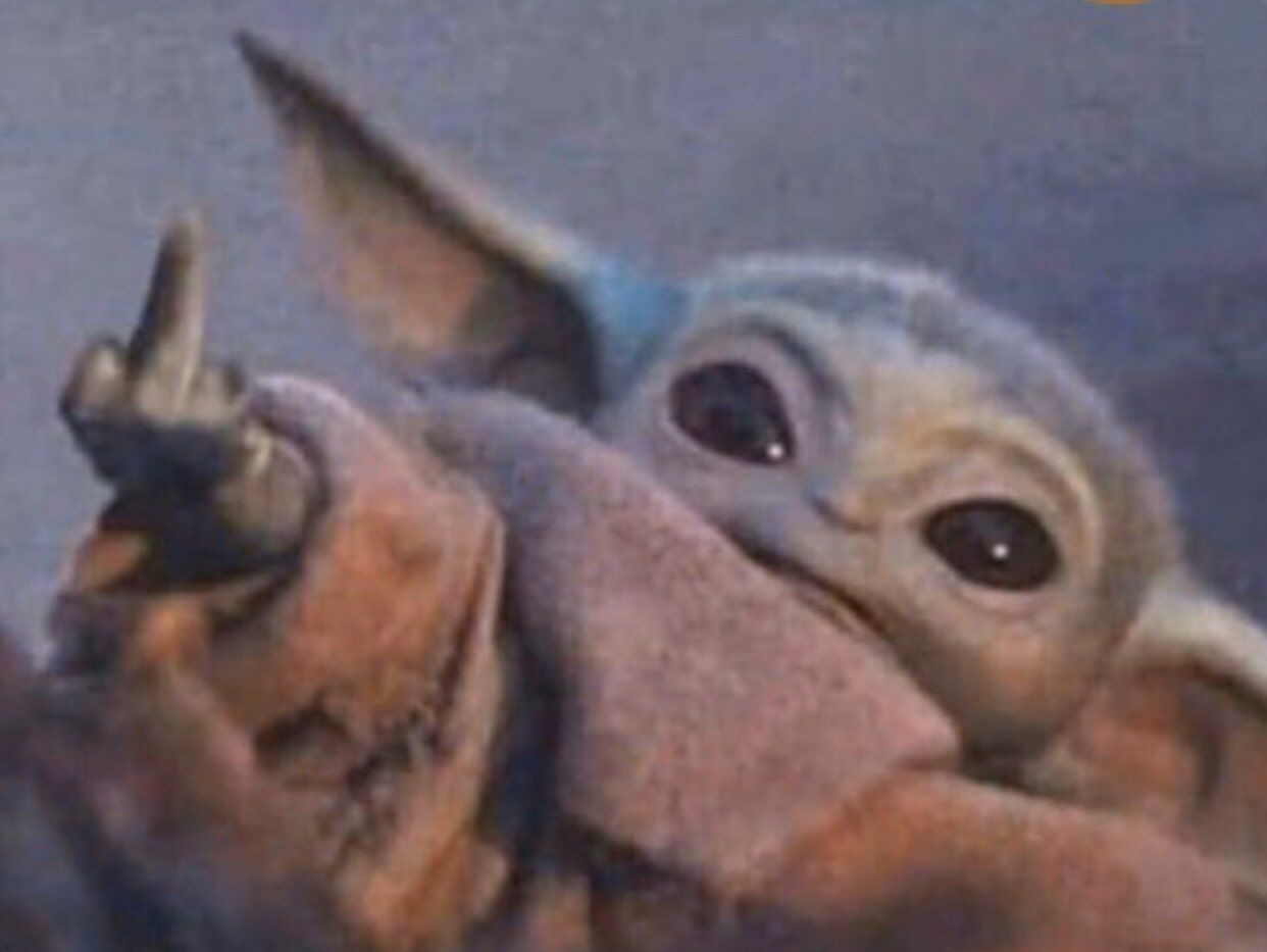 King On Twitter Yoda Wallpaper Star Wars Memes Yoda Meme