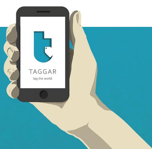 Crea y aprende con Laura: Taggar. 1ª App Social de Realidad Aumentada que permite esconder mensajes secretos