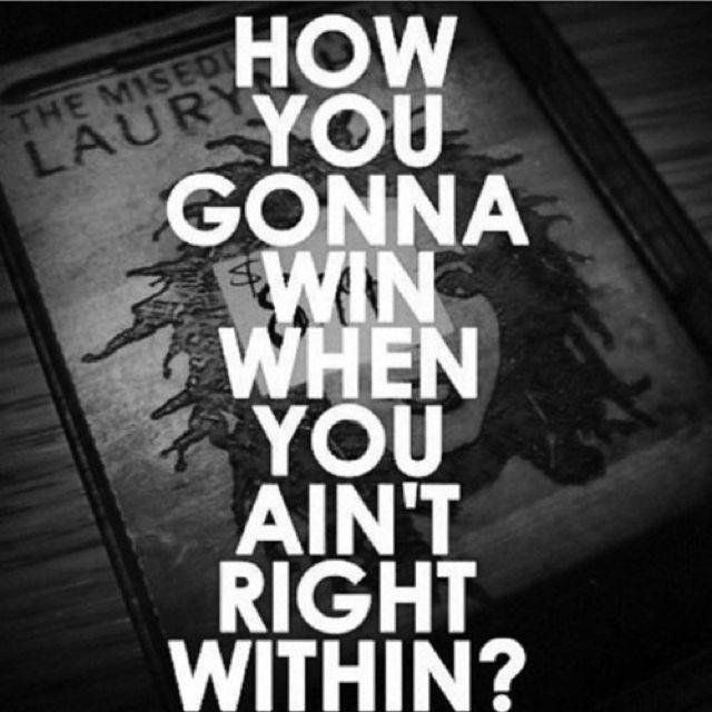 Wise words Lauren Hill! ❤