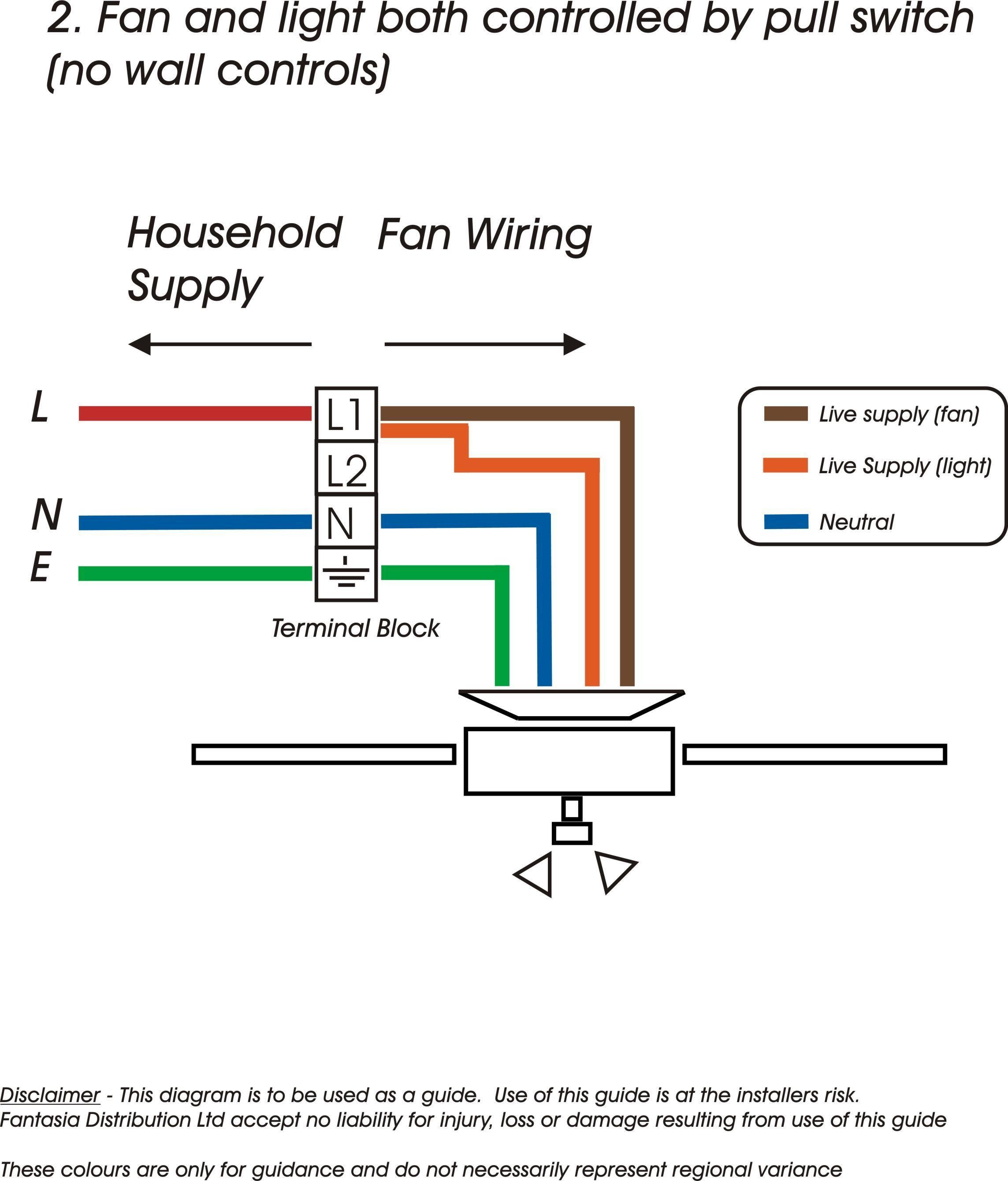 Ceiling Fan Light Switch Wiring o