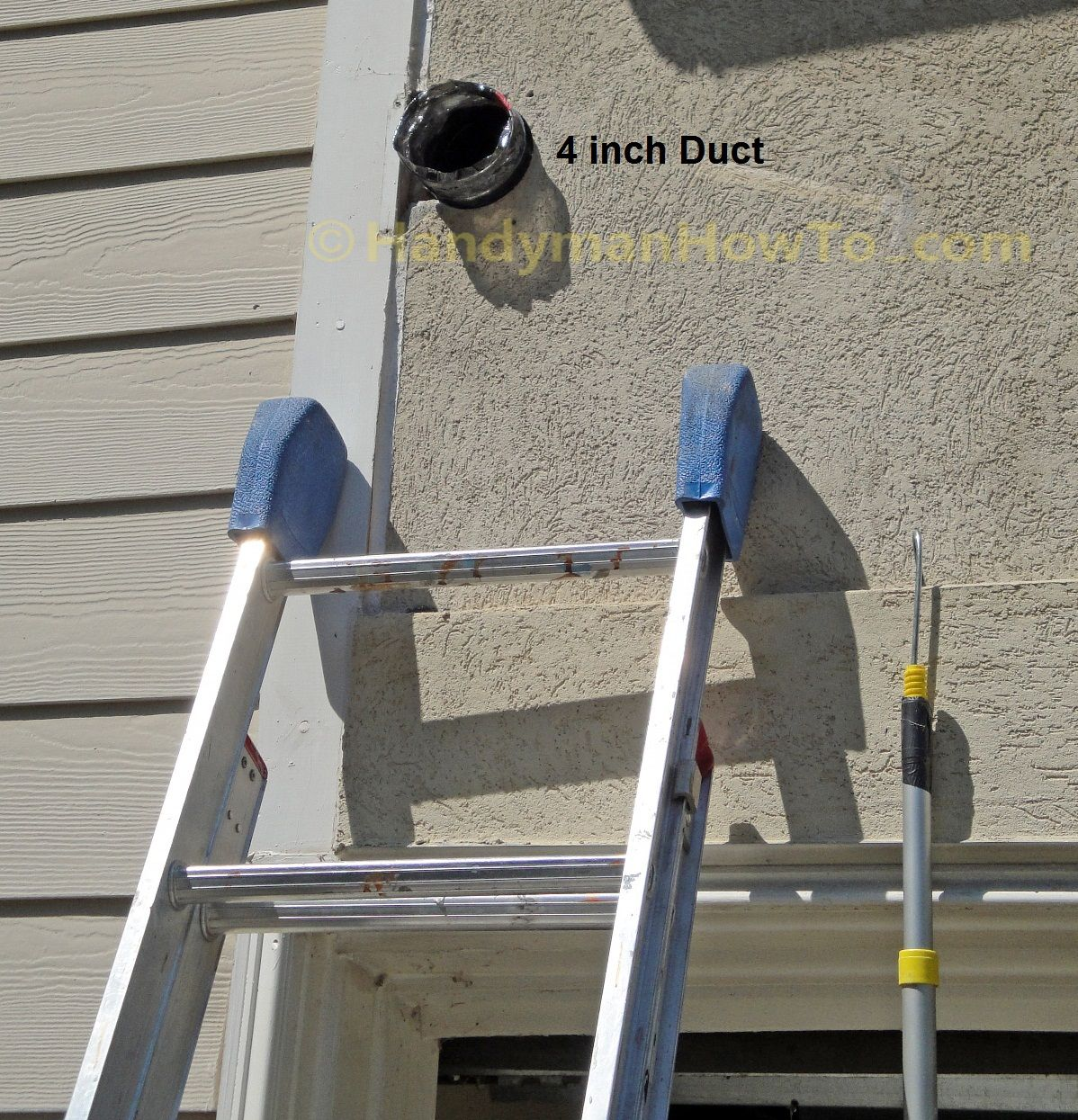 How To Replace A Bathroom Exhaust Fan And Ductwork Outdoor Vent