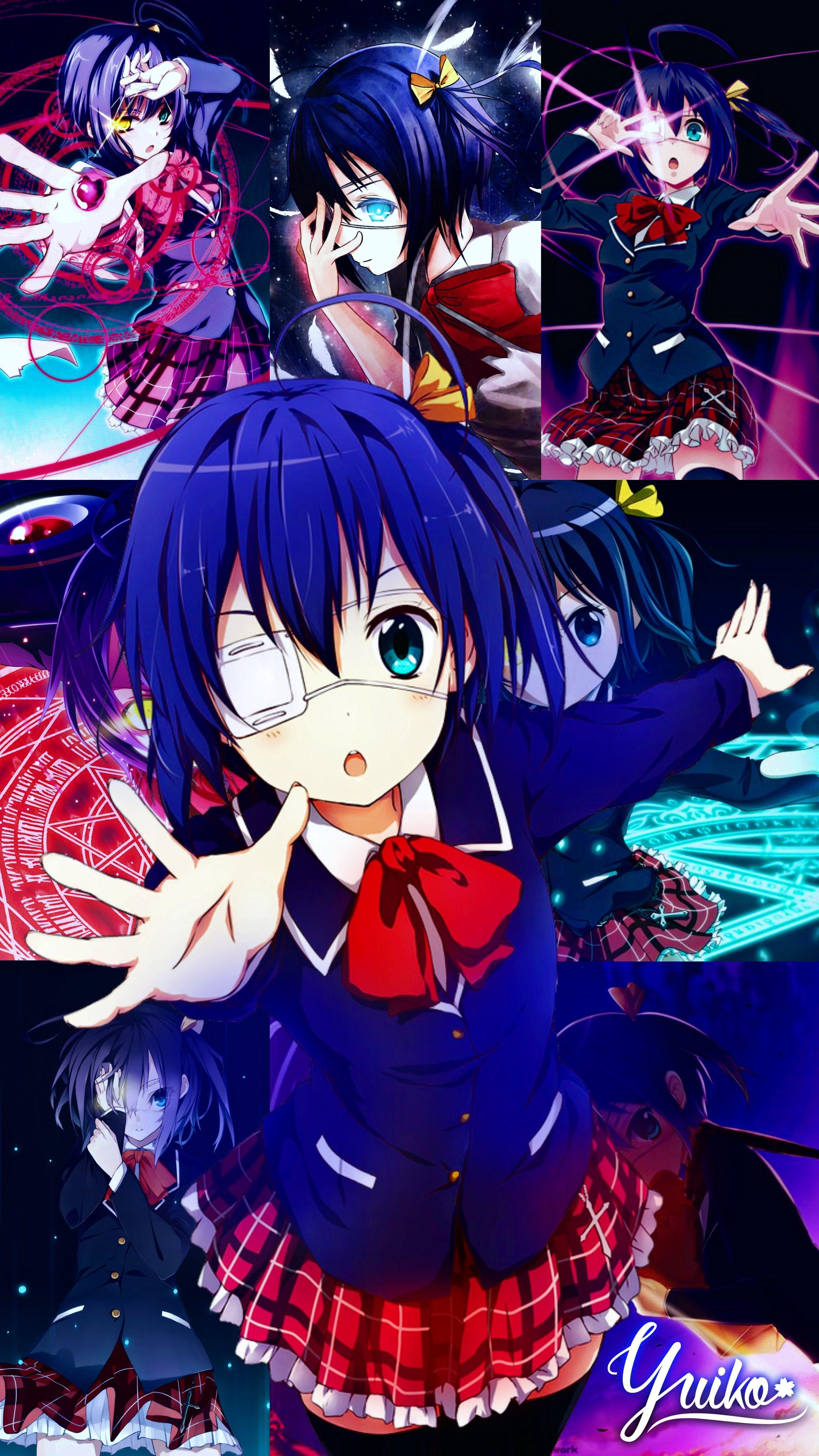 Rikka Takanashi Wallpaper By Yui Yuiko Chuunibyou Demo Koi Ga Shitai Ilustrasi Karakter Gambar Karakter Animasi