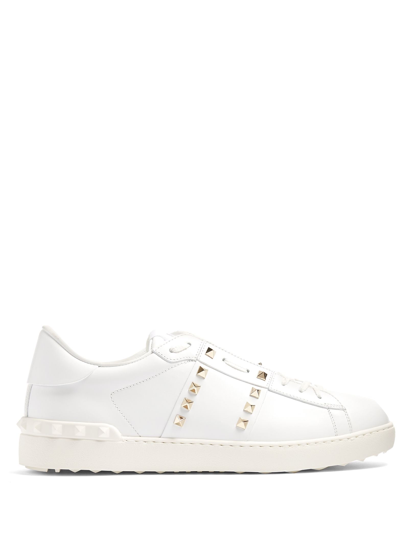 0cdf29a9f1cf2 COM | The global luxury-shopping destination for men. Valentino | Rockstud  Untitled #11 Sneaker Valentino Rockstud Trainers, Leather ...