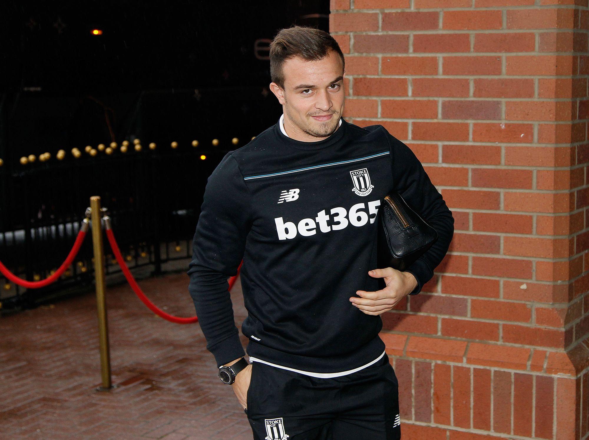 Xherdan Shaqiri Interview German R Soccer Soccer Athletic Jacket Adidas Jacket