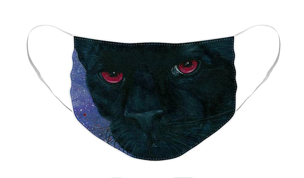 Carmilla Black Panther Vampire Face Mask for Sale by