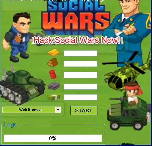 Social Wars Herşey Sınırsız Hilesi   Facebook Oyun Hileleri