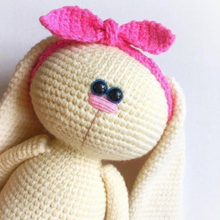 Amigurumi Patterns V Instagram Pattern Rabbit Mila Https Www Etsy Com Shop Knittoypatterns Amigurumi Patterns Crochet Toys Patterns Amigurumi
