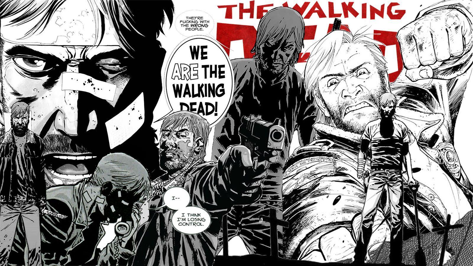 Walking Dead Comic Wallpapers Desktop Background Click