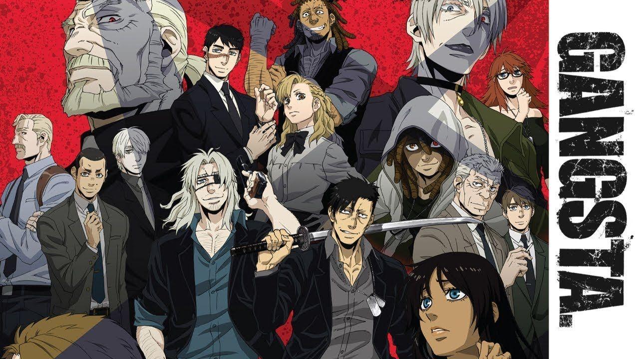 Manga Gangsta 0/8 GangstaCursed. EP_Marco Adriano 0/2