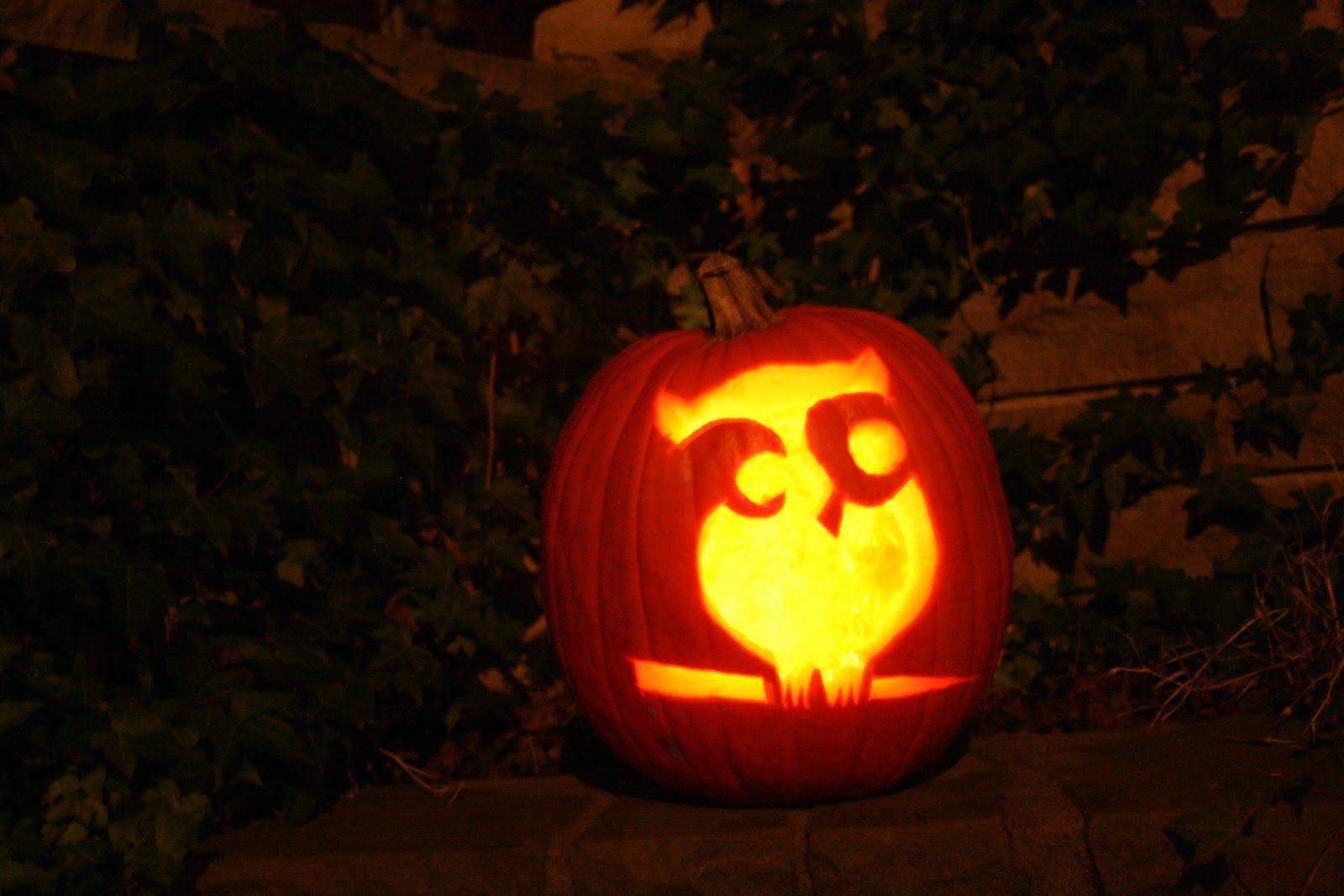 Perfect Pumpkin Carving Owl Template Vignette - Framing Coloring ...