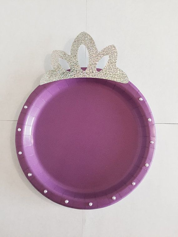 DIY Make your Sofia the First Party Plates. All you need is a paper & DIY: Make your Sofia the First Party Plates. All you need is a paper ...