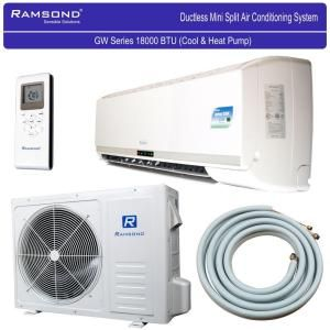 ramsond btu 15 ton ductless mini split air conditioner and heat pump 220v60hz