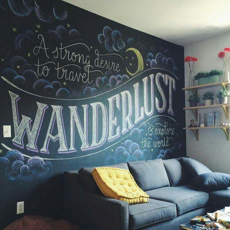 I Need A Chalkboard Wall Pronto.