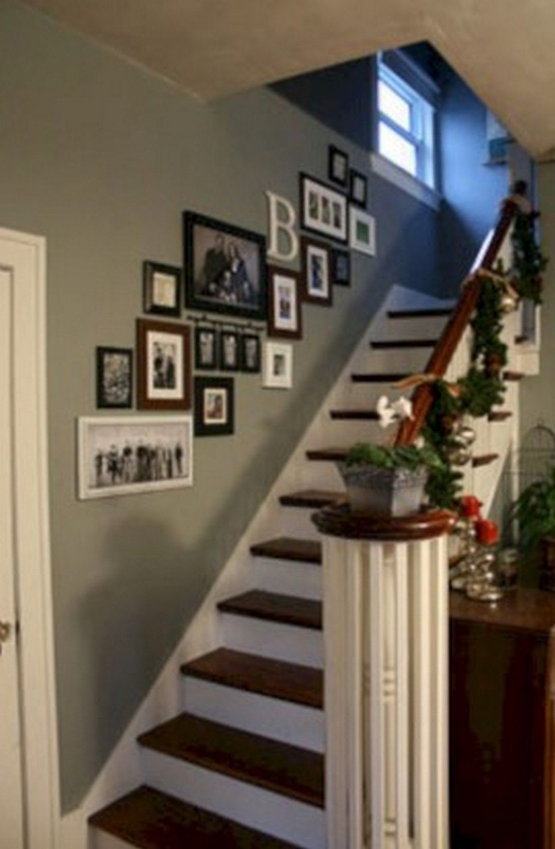 6 A Stair Hall Gallery Wall Design Ideas Stairway Picture Wall