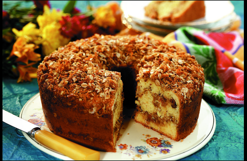 Banana crunch cake recipe with images crunch cake