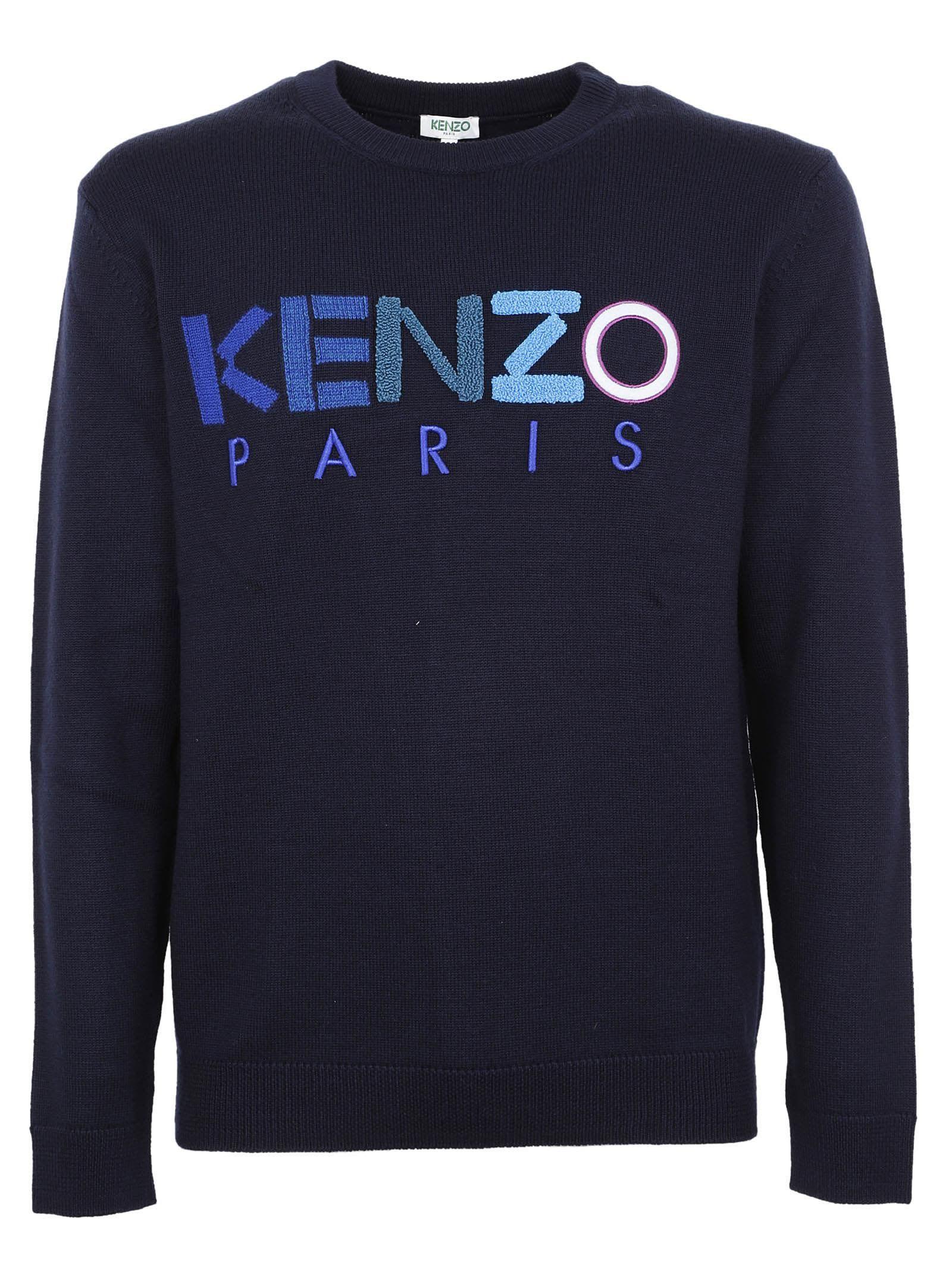 Kenzo Paris Homme Sweatshirt Black Medium Kenzo Shirt Jumper Pullover wCr3GsUE
