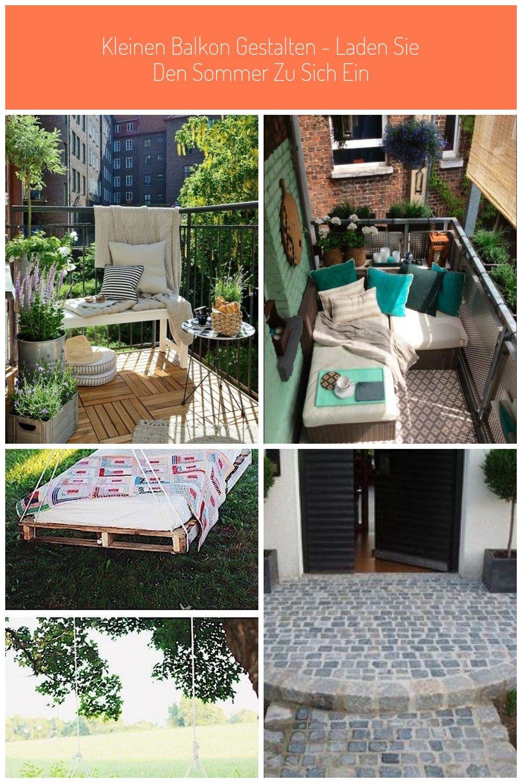 Kleinen Balkon gestalten - Laden Sie den Sommer zu sich ein #Bodenbelag draussen Kleinen Balkon gestalten - Laden Sie den Sommer zu sich ein #balkongestalten