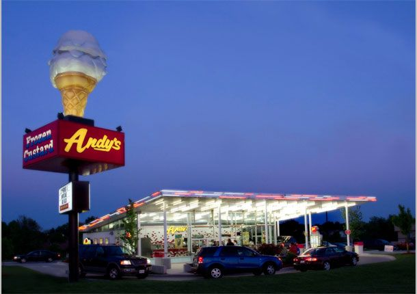 Andy Sfrozencustard Qualityinn Chesterfield Dining Midwest