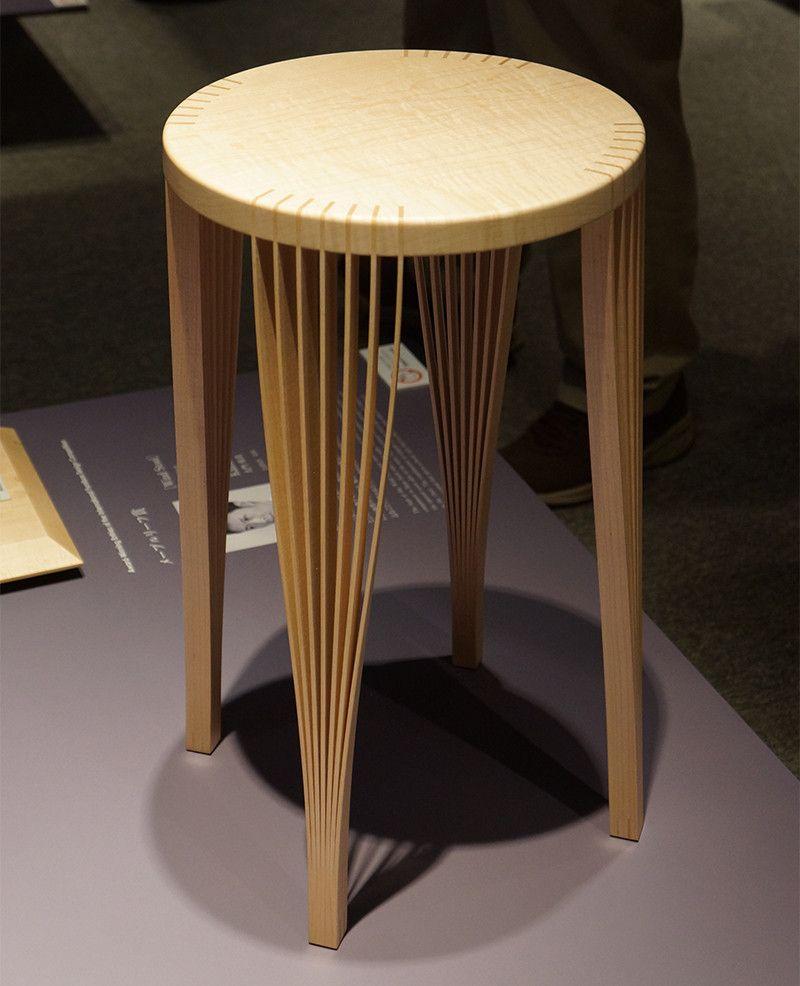 「国際家具デザインコンペティション旭川2014」に行って来ました. StoolBamboo