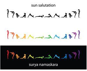 sacral chakra sun salutation to align and balance