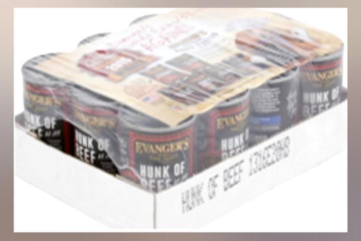 Evangers recalls hunks of beef pet food over