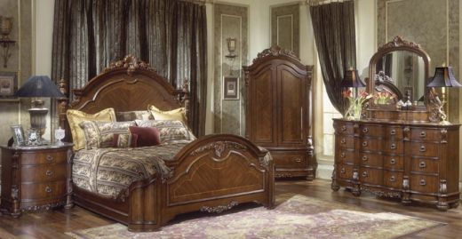 Furniture Fit For Kings And Queens Mansion Bedroom Bedrooms - Collezione europa bedroom furniture collezione europa bedroom