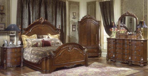 7b4e2c598164d  Hampton Court  Mansion Bedroom Collection By Collezione Europa.