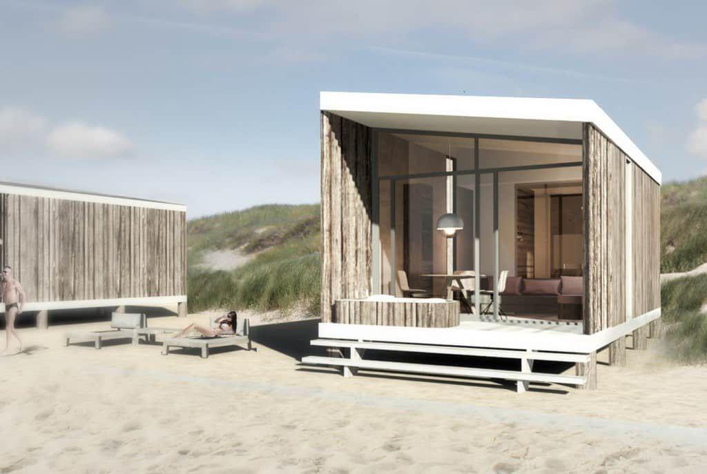VIP-STRANDHUIS MET JACUZZI - Het meest luxe strandhuis van NL #strandhuis