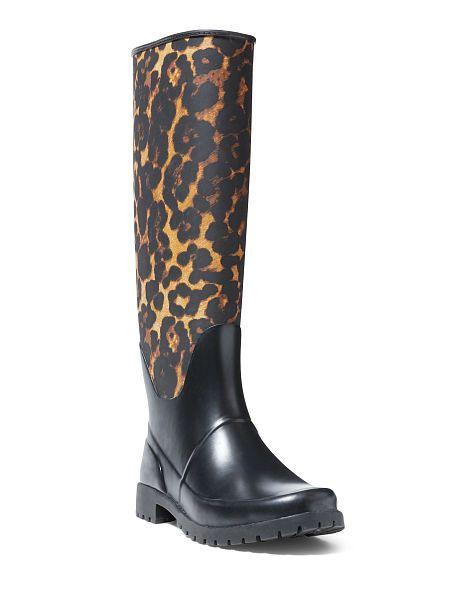 Bethania Leopard Rain Boot | Boots