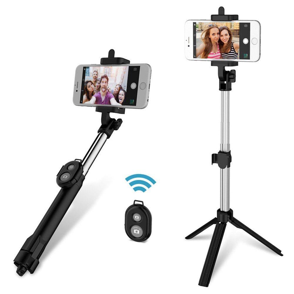 Palo Para Selfie Bluetooth Trípode Extensible Monopie Remoto para iPhone 8//X Samsung U