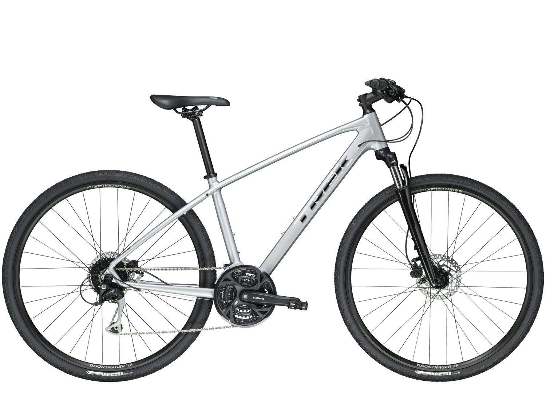 Bicicleta Trek Dual Sport DS3 2019 Cinza Bicicleta