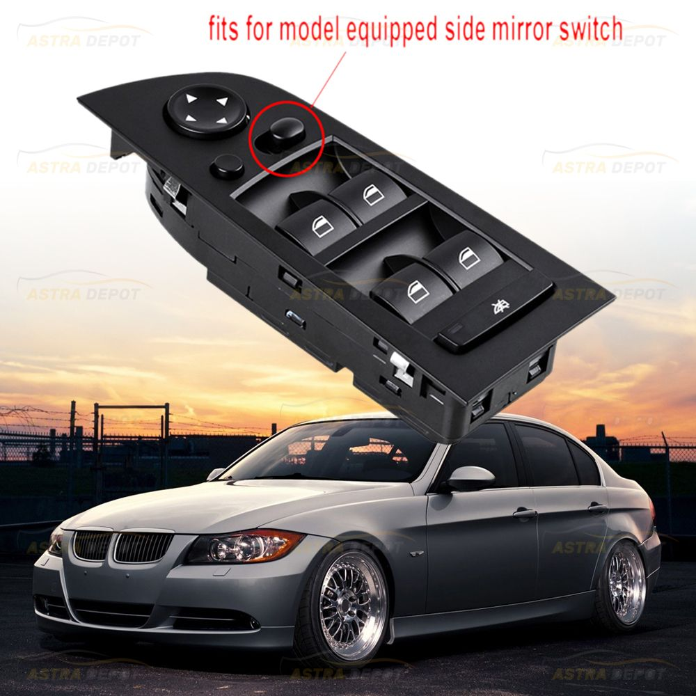 Driver Window Mirror Switch Control For Bmw E90 E91 325i 328i 330i Reference Part Number 61319217332 Fit For Left Ha Bmw Performance Bmw Bmw Parts