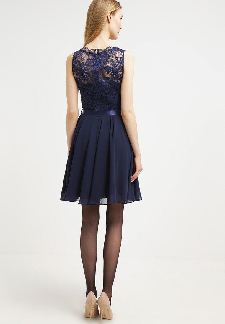 Cocktailkleid/festliches Kleid - dunkelblau @ Zalando.de ...