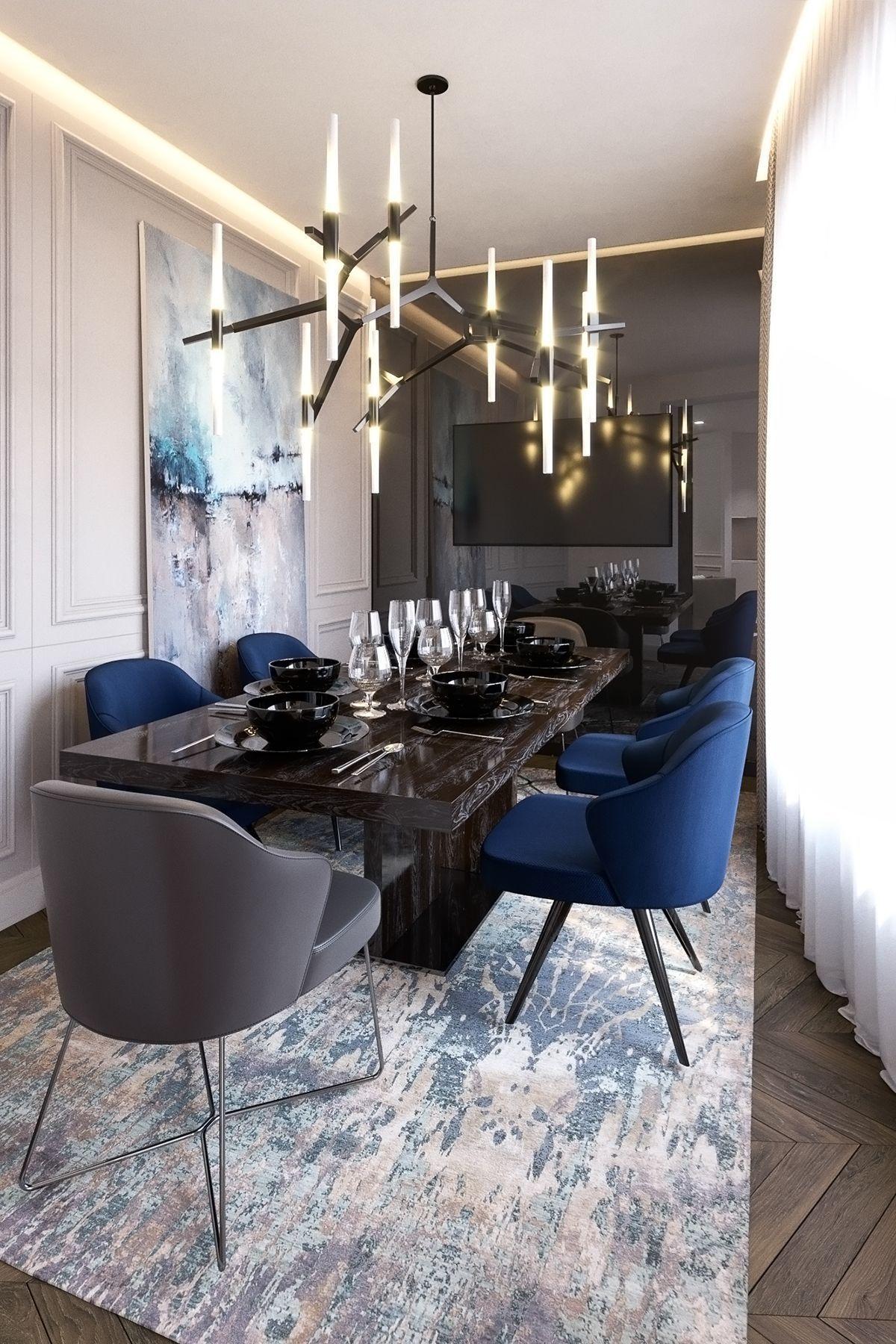 Best Mid Century Dining Room Ideas Https Www Delightfull Eu En Get Ideas For Dining Room Chandelier Di Dining Room Small House Interior Dining Room Design
