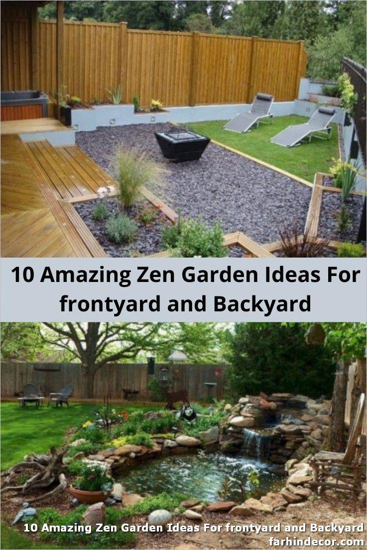 10 Amazing Zen Garden Ideas For frontyard and Backyard ... on Zen Front Yard Ideas id=68326