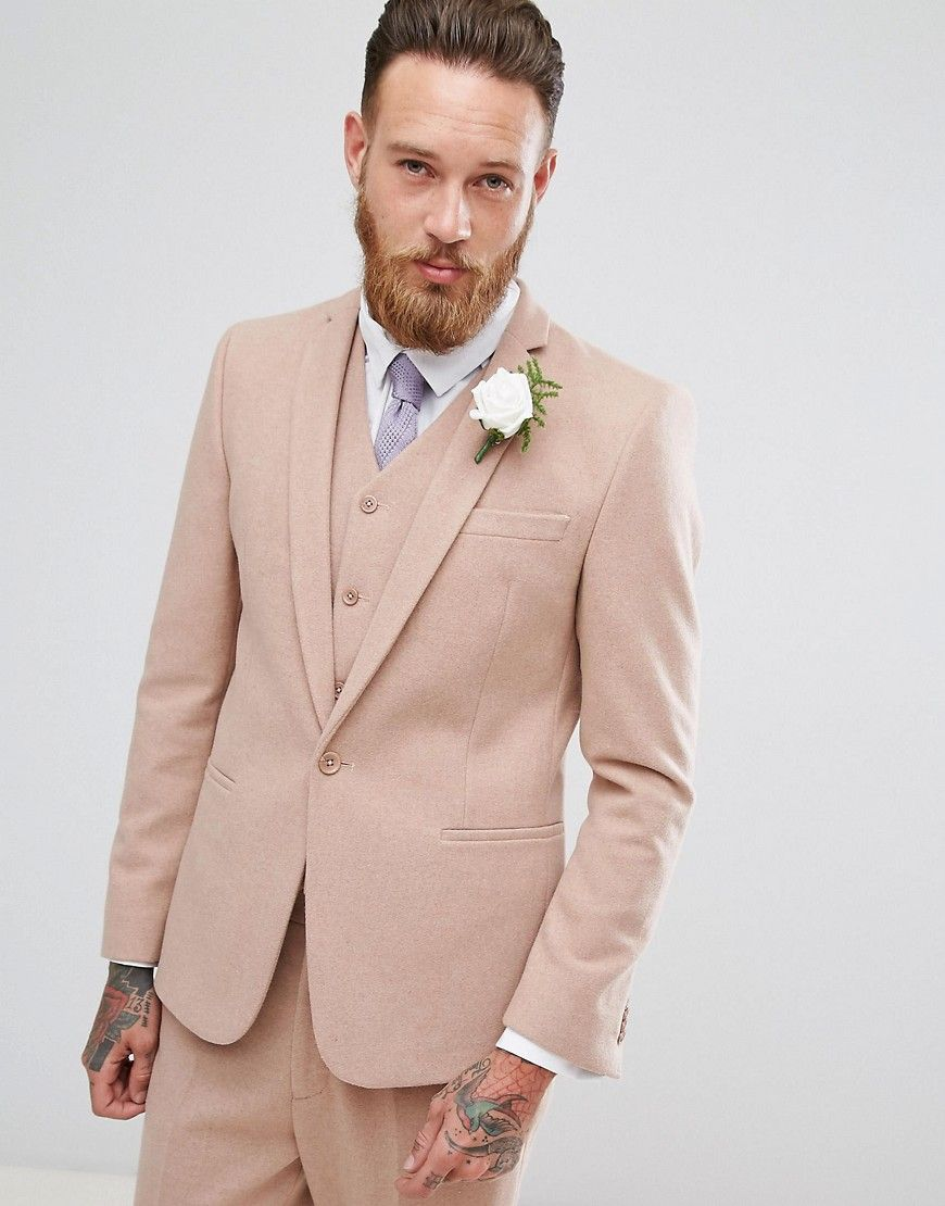Perfecto Beige Wedding Suits For Men Patrón - Colección de Vestidos ...